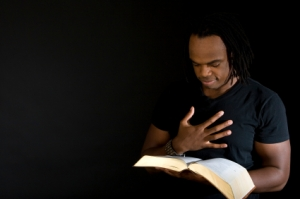 130101 man reading Bible